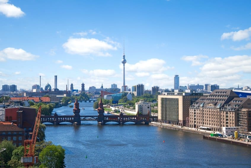 Berlin - Aussicht auf Spree