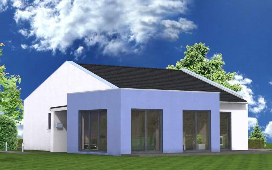 Bungalow modern hegner m ller gmbh - Bungalow moderne architektur ...