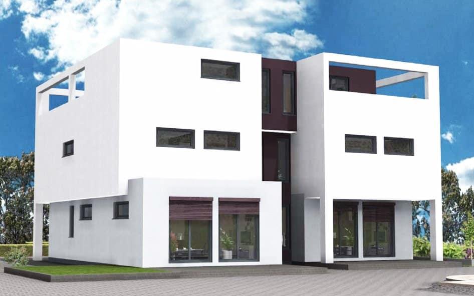 Moderne doppelhäuser flachdach  Hausbau | Hegner & Möller GmbH