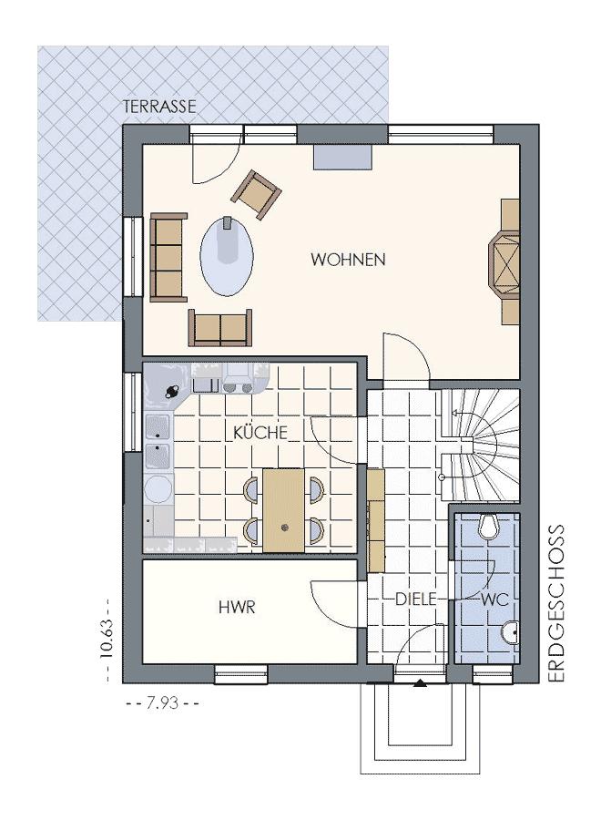 Einfamilienhaus zweigeschossig hegner möller gmbh