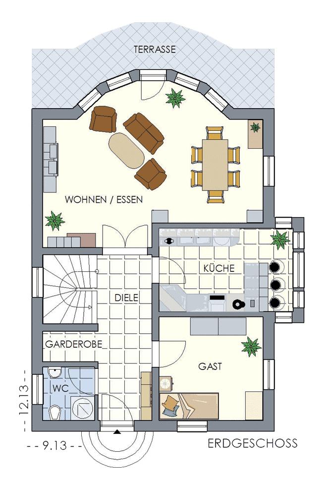 Einfamilienhaus mit erker hegner möller gmbh