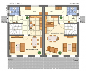 Doppelhaus 230