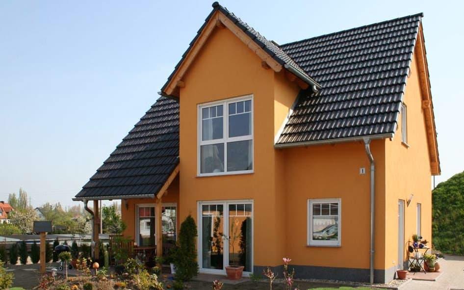 Einfamilienhaus mit Giebel