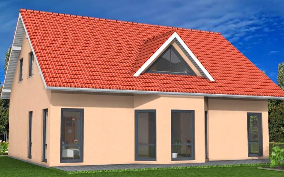 Einfamilienhaus mit drei Kinderzimmern