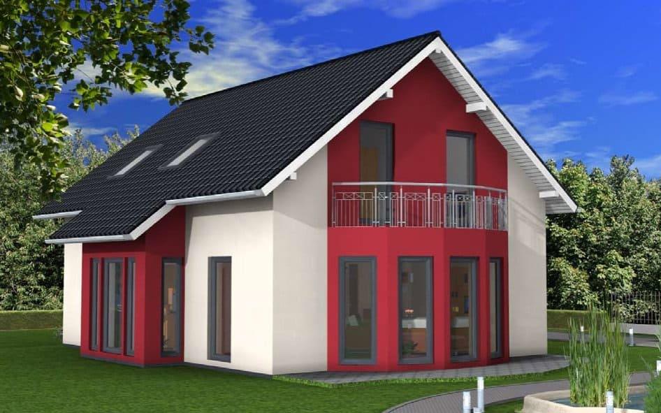 Einfamilienhaus mit Erker