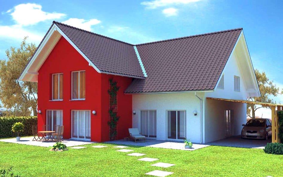 Zweifamilienhaus Massivhaus