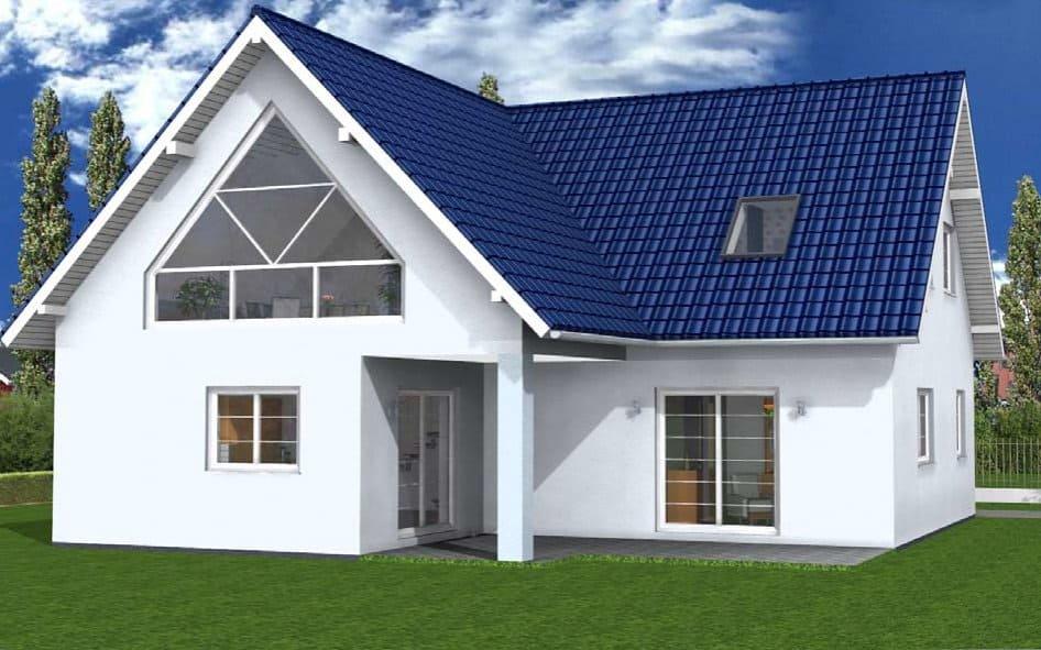 Zweifamilienhaus mit zwei Eingängen