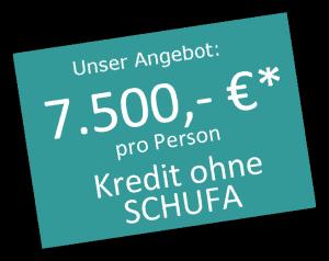 Schweizer Kredit jetzt bis 7.500 €