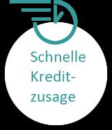Schnelle Kreditzusage